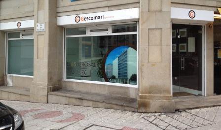Gescomar Galicia, oficinas en Rúa Rosalía de Castro